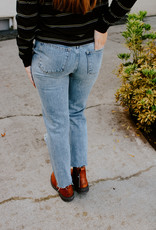 Dear John Denim Jodi Super High-Rise Straight Leg
