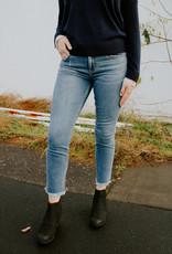 Dear John Denim Blaire Mid Rise Straight Leg