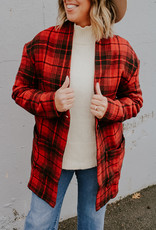 Tentree Flannel Cocoon Cardigan