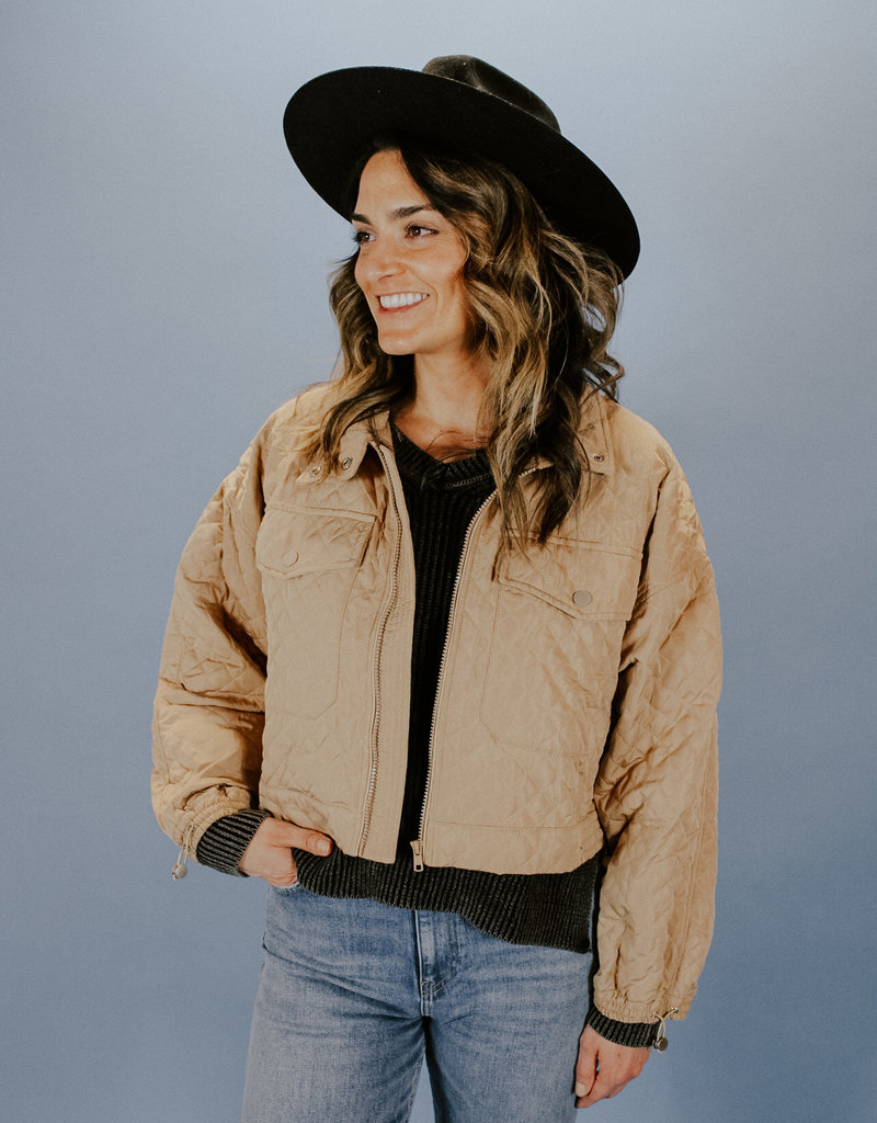 Dinah Quilted Jacket