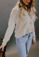 Pazly Button Cardigan