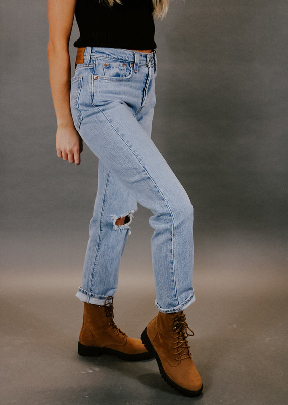 Levi Strauss & Co Wedgie High-Rise Straight Leg