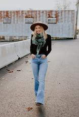 Hudson Hudson: Holly High-Rise Flare Flap Jean