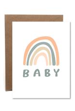 Faire Rainbow Baby Card