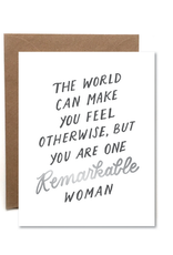 Remarkable Woman Card