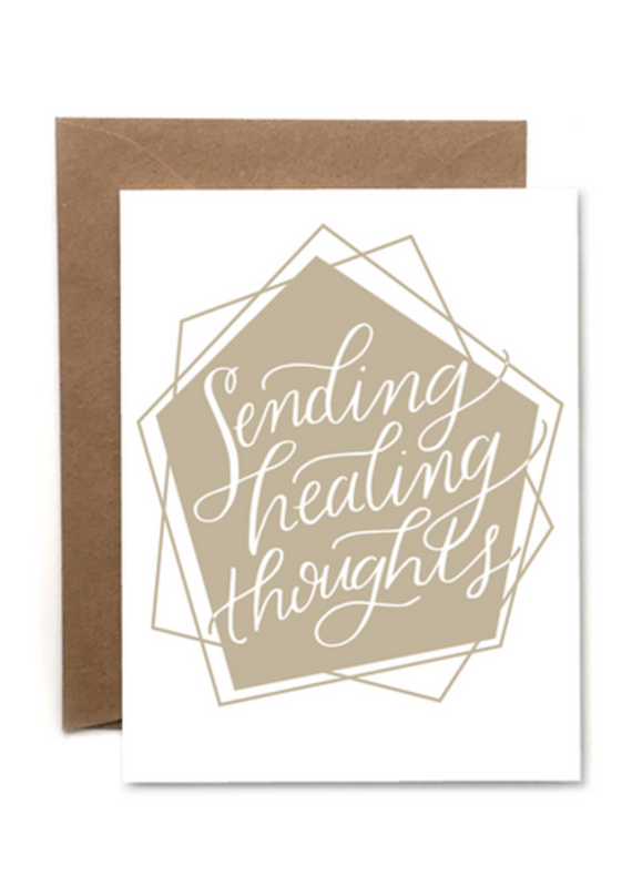 Healing Thoughts Card