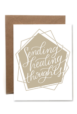 Faire Healing Thoughts Card