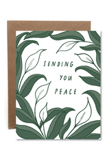 Sending Peace Card
