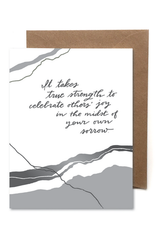 Faire It Takes True Strength Card