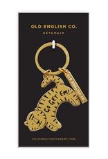 Faire Tiger Keychain