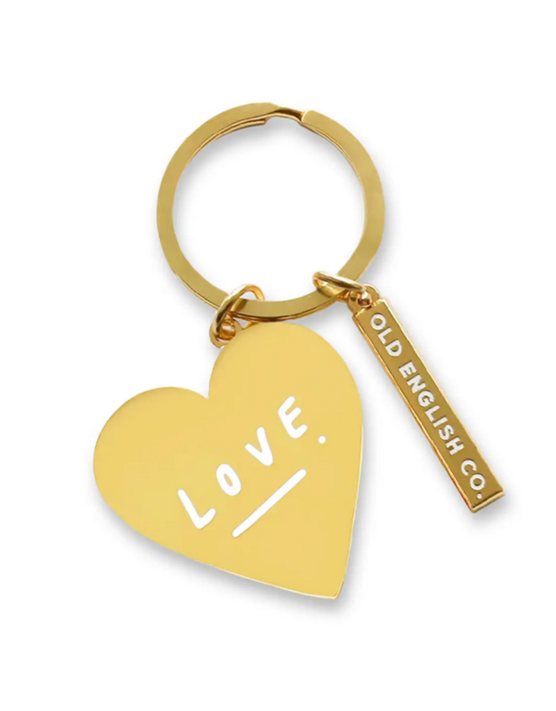 Faire Love Heart Keychain