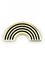 Faire Gold Rainbow Pin