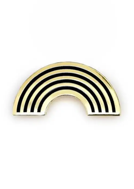 Gold Rainbow Pin