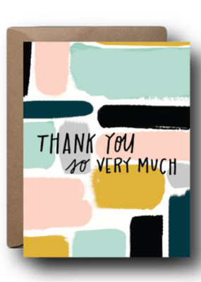 Faire Thank You Greeting Card