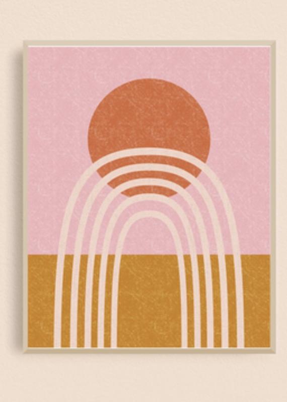 Rainbow Arch Art Print