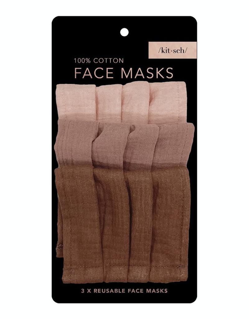 Faire Kitsch Cotton Mask 3pc Set