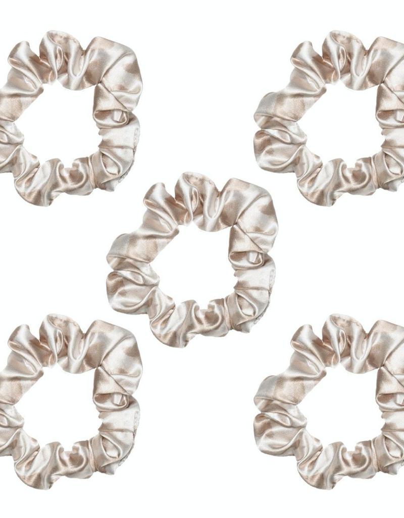 Faire Kitsch Satin Sleep Scrunchies 5pc Set