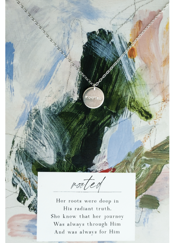 Rooted Necklace- Sterling Silver