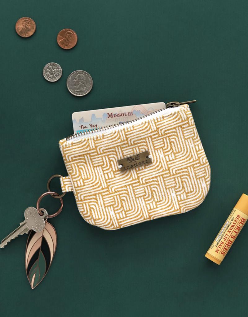 Gold Stripe ID Wallet