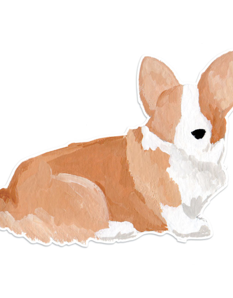 Corgi Die-Cut Vinyl Sticker