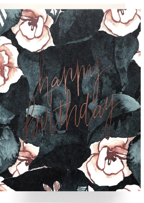 Faire Magnolia Birthday Greeting Card