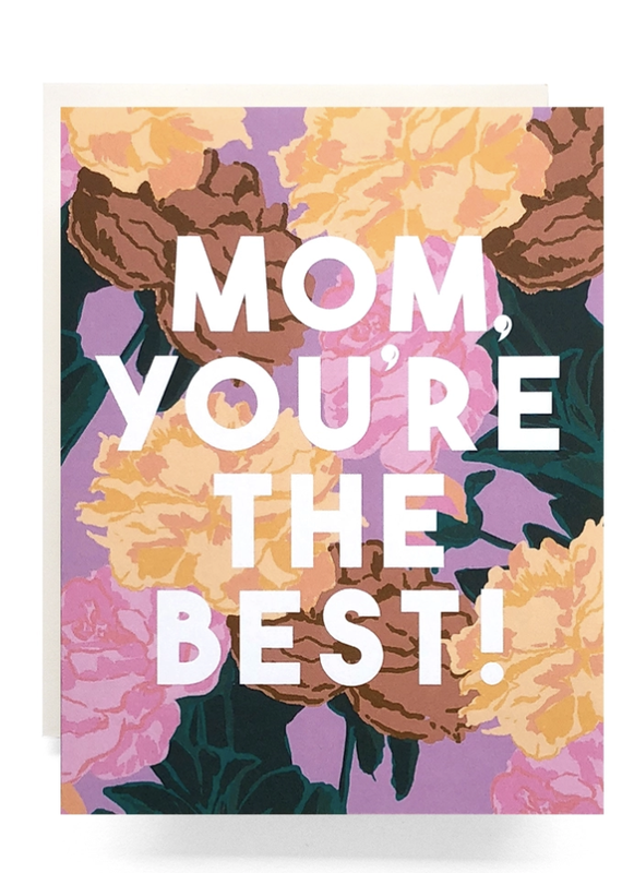 Mom Roses Greeting Card