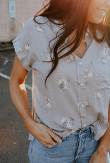 Shania Floral Top