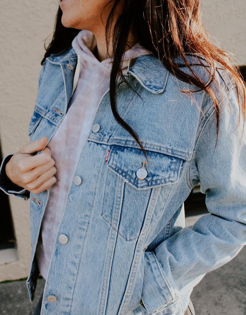 Levi Strauss & Co Ex-Boyfriend Trucker Jacket