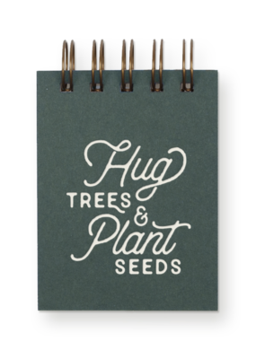 Faire Hug Trees Jotter Notebook