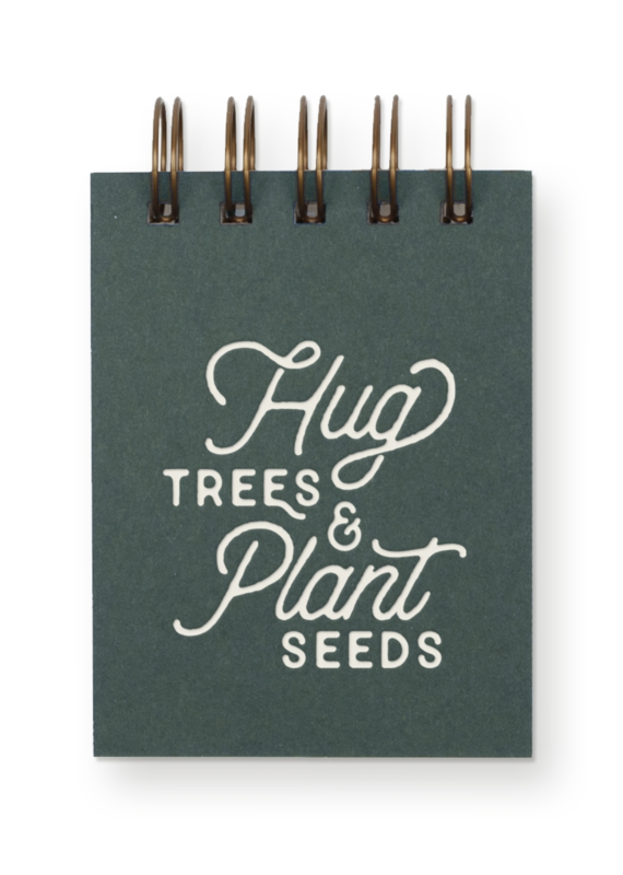Hug Trees Jotter Notebook