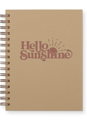 Faire Hello Sunshine Journal