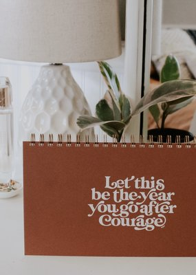 Faire Go After Courage Weekly Planner