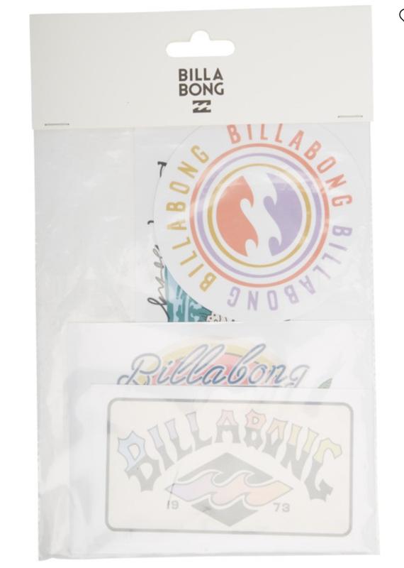 Billabong Sand and Sun Sticker Pack