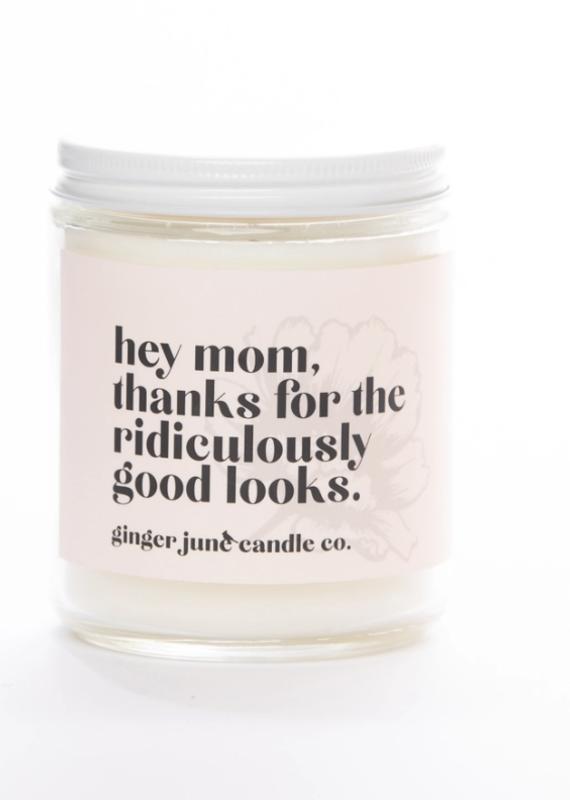 Hey Mom Candle