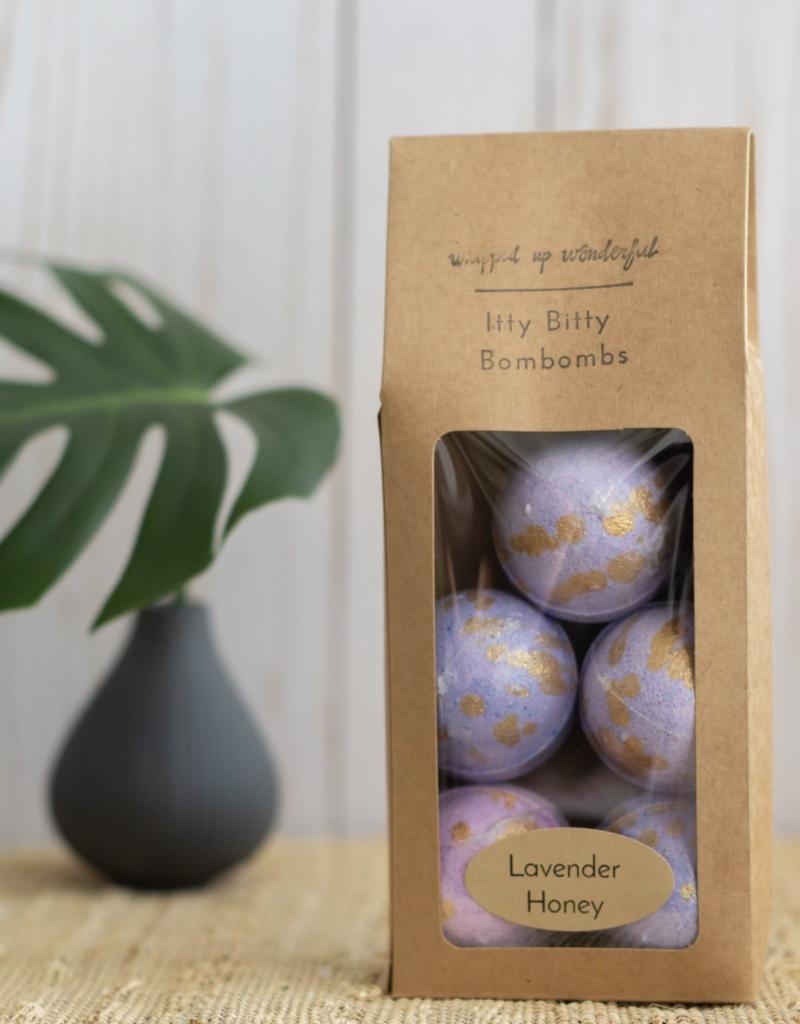 Lavender Honey Itty Mini Bath Bombs