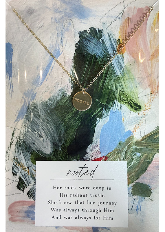 Rooted Necklace- 14kt Gold Fill