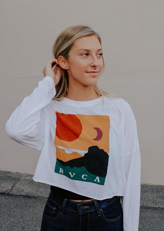 RVCA Abstract Horizon Long Sleeve