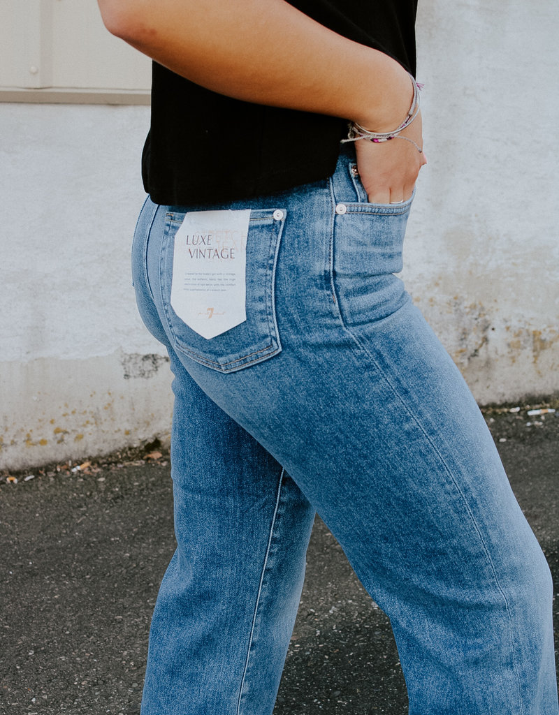 7 For All Mankind Cropped Alexa Wide Leg