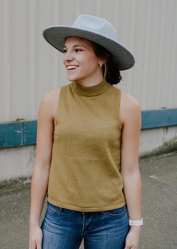 RVCA Sara Sweater Tank *Last size: LARGE