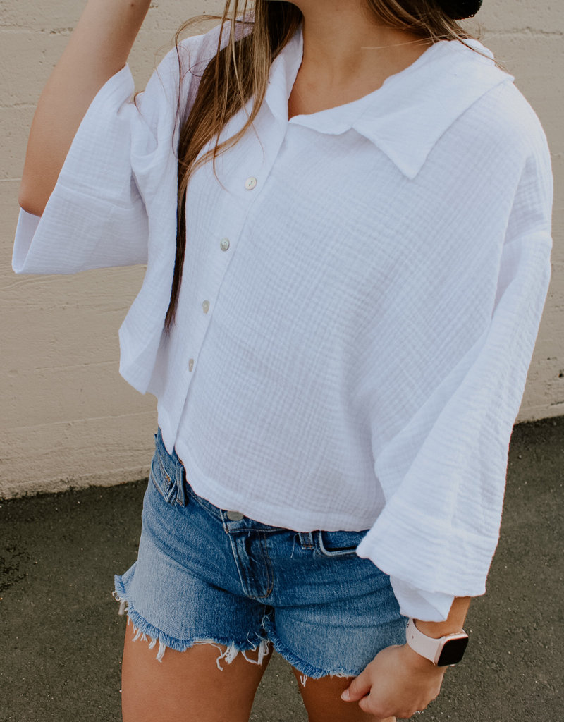 ZSupply Canal Gauze Top