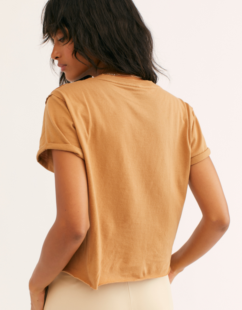 Free People The Perfect Tee in Light Earth