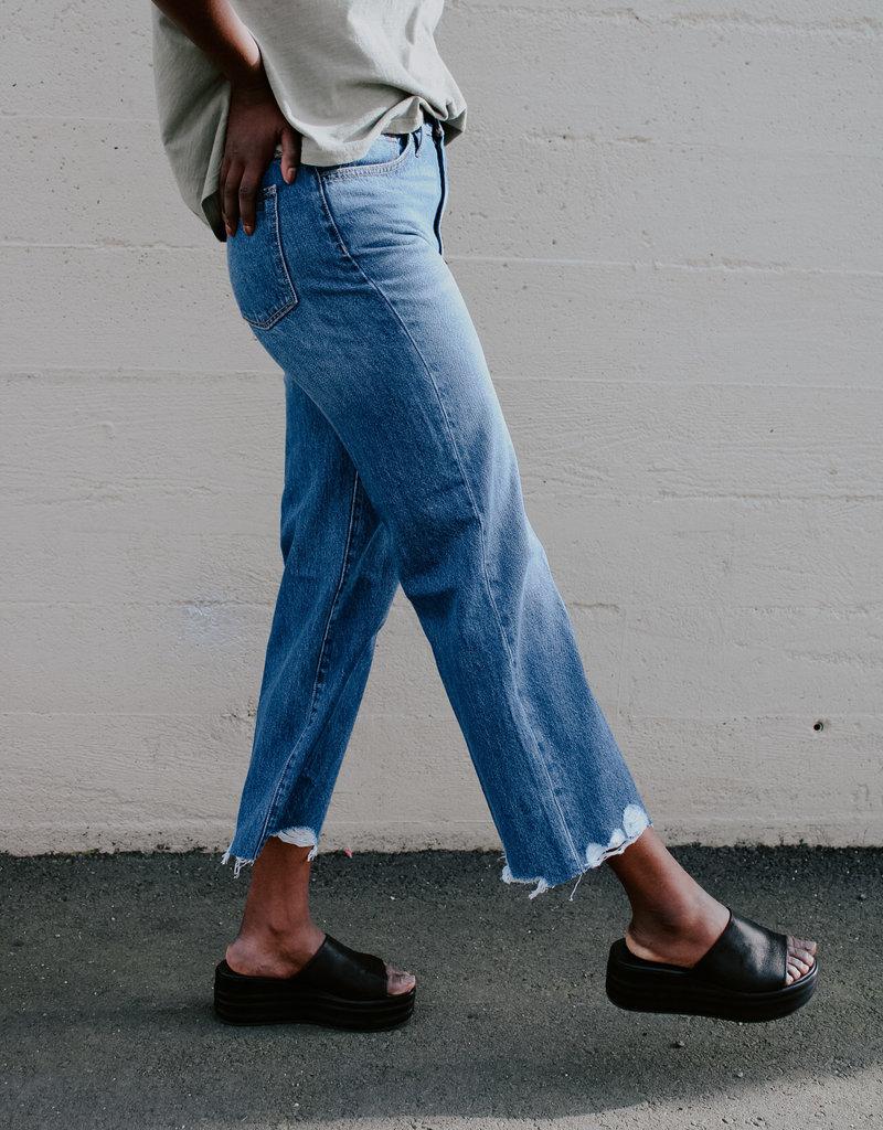 Joes Jeans Blake High-Rise Wide Leg Crop