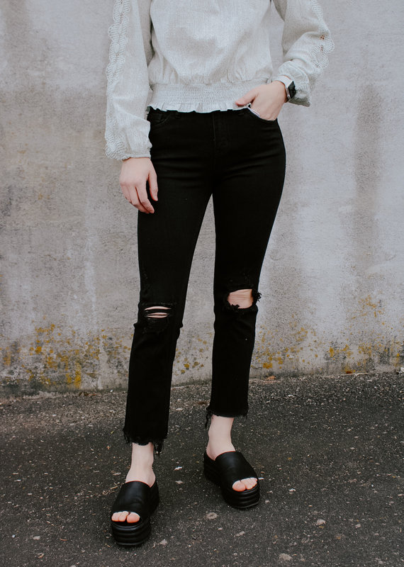 High-Rise Straight Leg