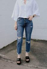 Joes Jeans Scout Mid-Rise Slim Tomboy Crop