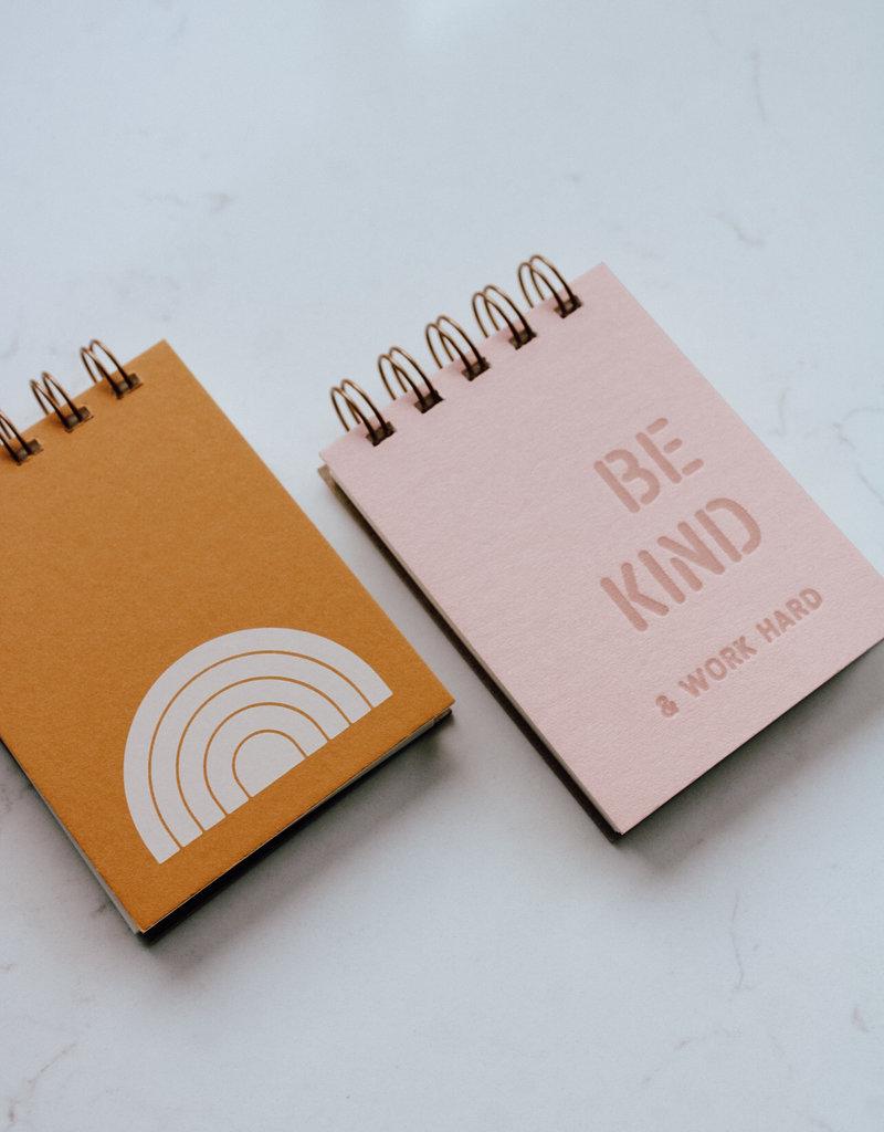 Rainbow Mini Jotter Notebook