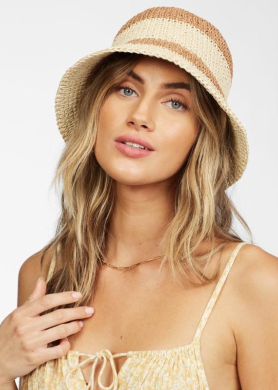 Billabong So Simple Straw Bucket Hat