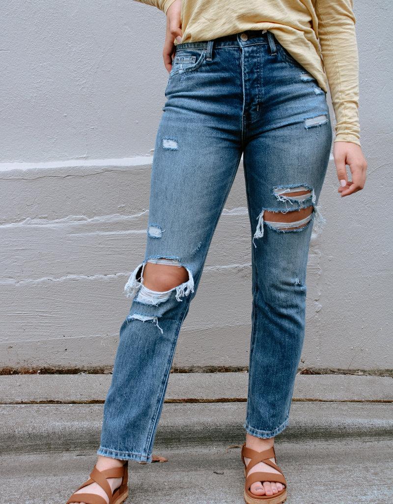Super High-Rise Straight Leg