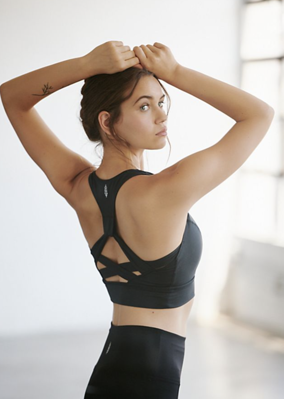 Free People Lightning Synergy Crop