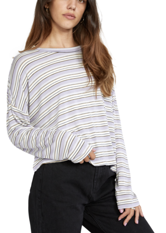 RVCA Countdown Long Sleeve Top