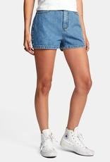 RVCA Azalea High-Rise Denim Shorts